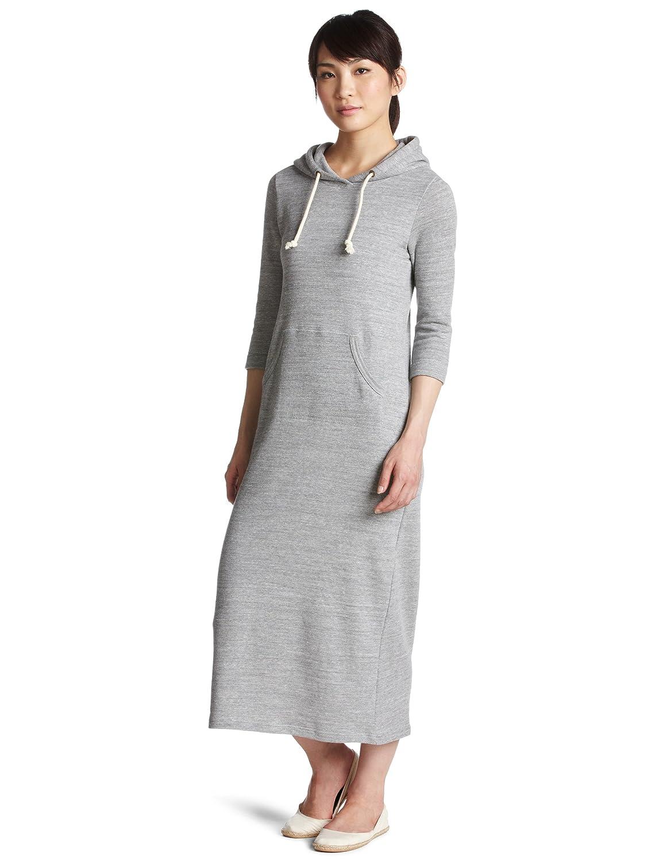 Amazon.co.jp: (レイビームス)Ray BEAMS Ray BEAMS / ムラ糸裏毛 ロングワンピース 63261352166 15 GREY ONESIZE: 服&ファッション小物通販
