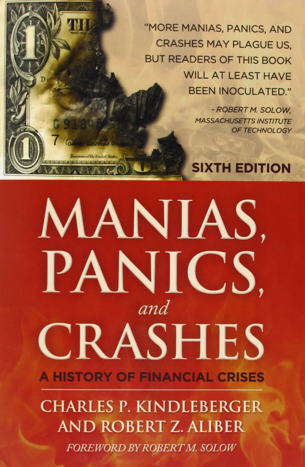 Manias, Panics, and Crashes - A History of Financial Crises (Third Edition) - Charles P. Kindleberger