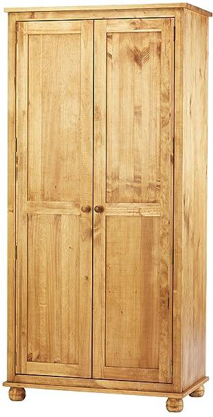 Ultimum Avon Solid Pine Double Wardrobe