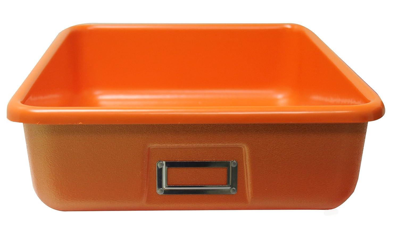 Shirley K's Storage Trays T183 Tray, Large, Luminique Orange shirley jump raudono batelio istorija