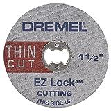 Dremel EZ409 1-1/2-Inch EZ Lock Thin Cut (Color: Silver, Tamaño: Pack of 1)