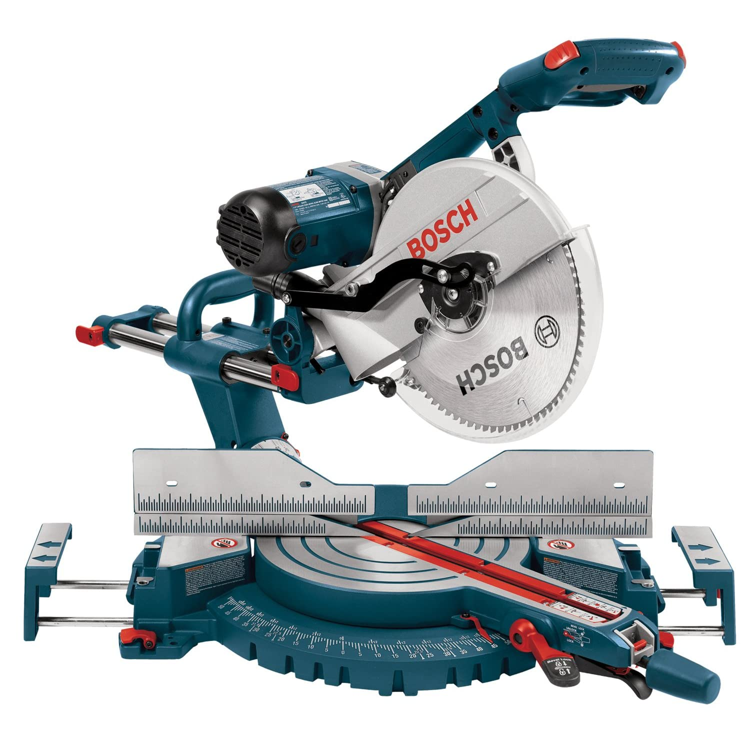 "Bosch 12"" sliding dual compound saw"