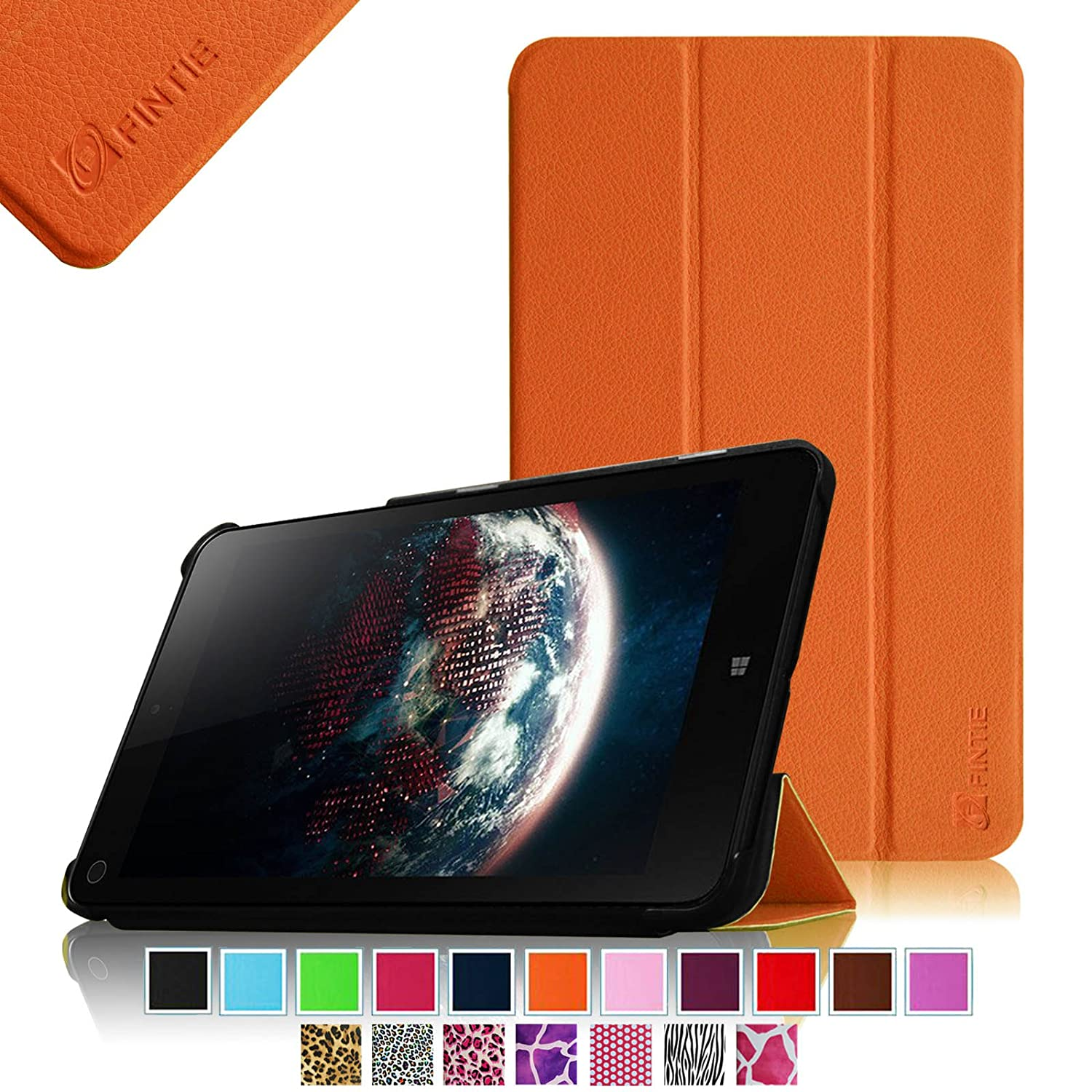 Фото Fintie Lenovo IdeaTab Miix 2 8 Smart Shell Case - Ultra Slim Cover for Lenovo Miix 2 8 Inch Tablet Windows 8.1 genuine leather for lenovo miix 720 case cover ideapad miix720 protective smart tablet 5 pro protector sleeve cowhide