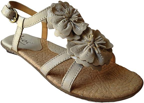 Born Concept Sunflower Sandal, Pearl, 8 M/W [Apparel] at Sears.com