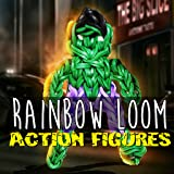 Rainbow Loom Video Tutorials: Action figures Series - Top Rubber Band Designs Video Guide