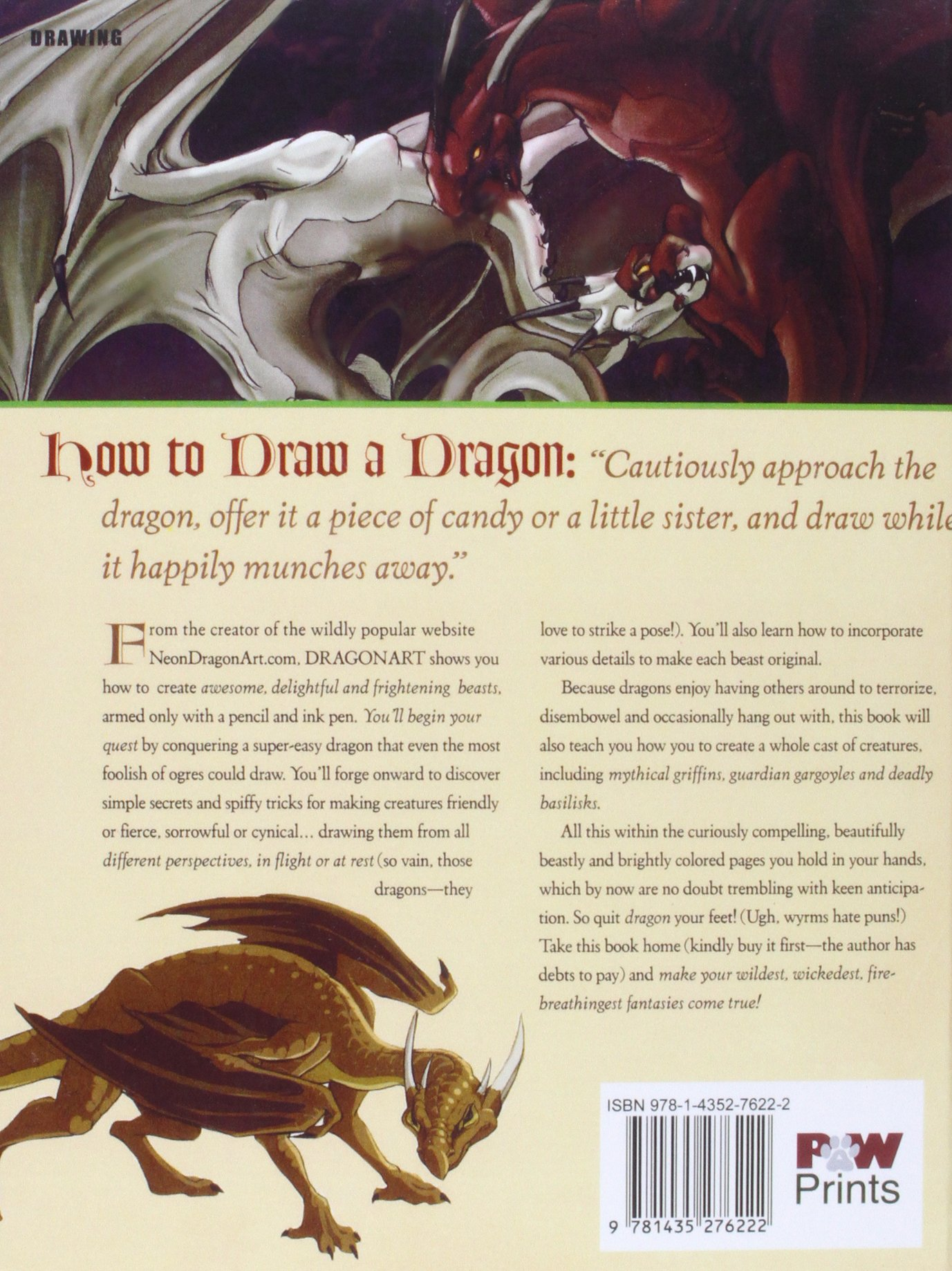 Buy Dragonart: How To Draw Fantastic Dragons And Fantasy Creatures Book  Online At Low Prices