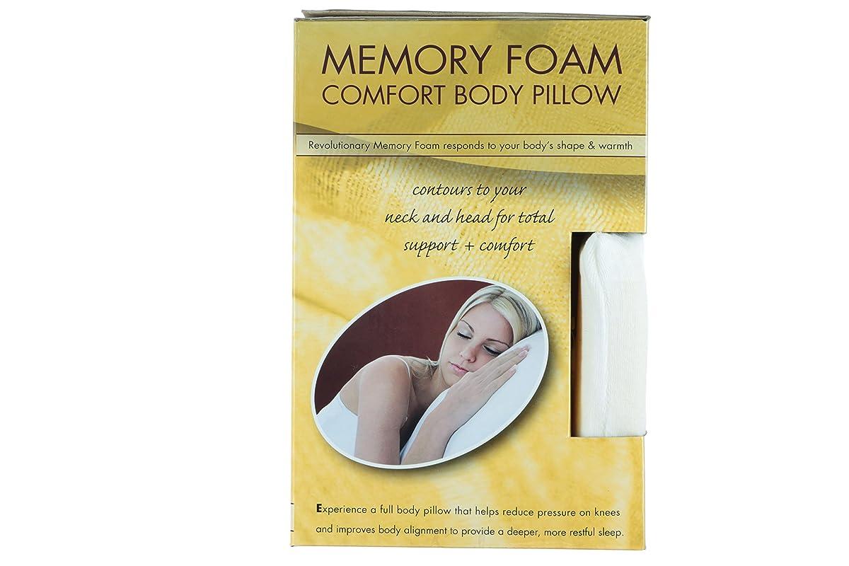 "Premium Shredded Memory Foam Body Pillow - 50"" x 14"" -"
