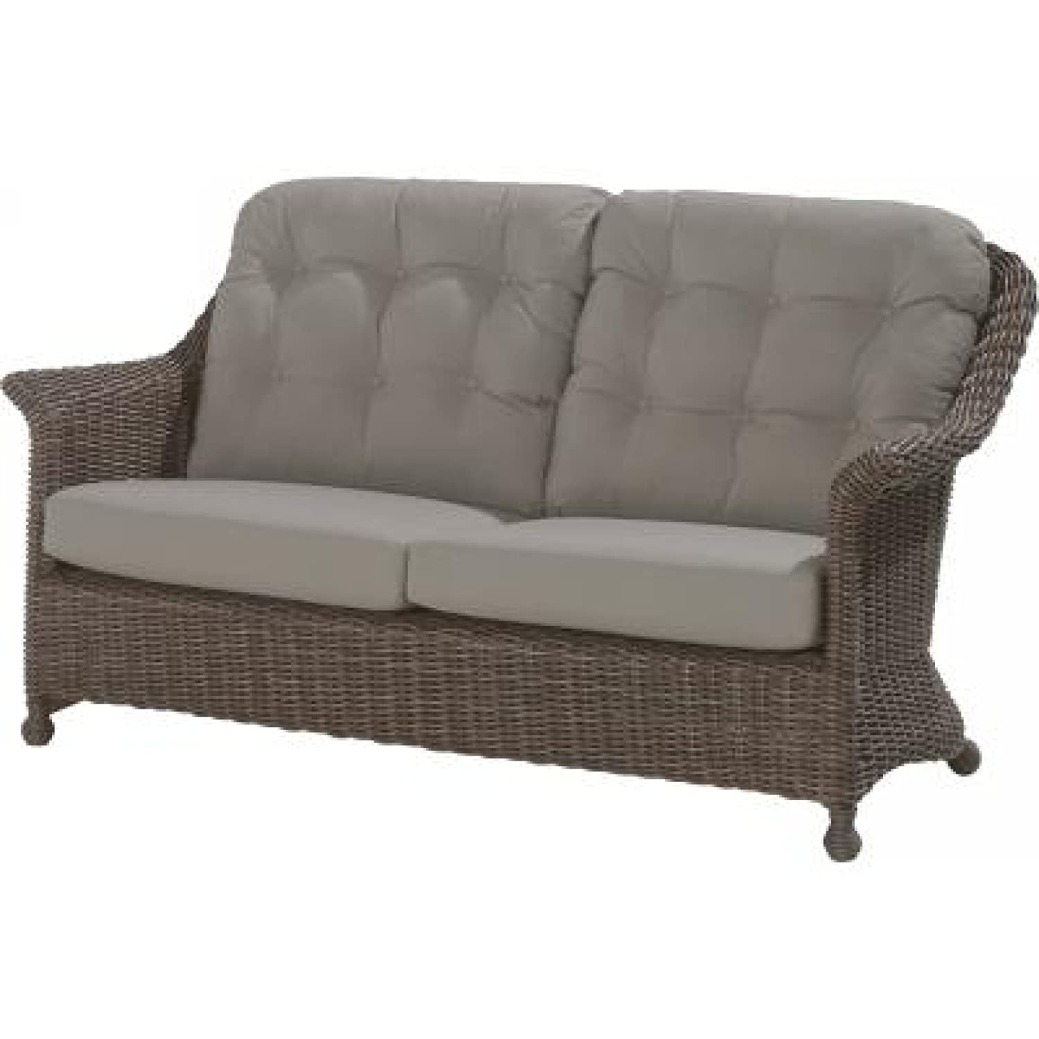 4Seasons Outdoor Madoera 2.5-Sitzer Sofa Polyrattan colonial