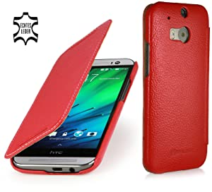 StilGut® Book Type, Leather Case for HTC One M8, Redreviews and more information