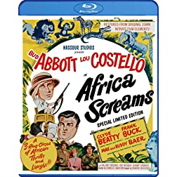 Africa Screams (Special Limited Edition) [Blu-ray]