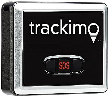Trackimo TRKM002 Tracker GPS/GSM personnel Europe entière/Afrique/Amérique du Sud Wifi 2G (Simple SIM) Noir