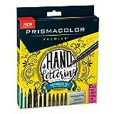 Prismacolor 2023754 Premier Advanced Hand Lettering Set with Illustration Markers, Art Markers, Pencils, Eraser and Tips Pamphlet, 13 Count (Color: Black, Tamaño: Advanced Hand Lettering Set)