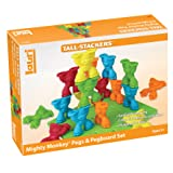 Lauri Tall-Stackers - Mighty Monkey Pegs & Pegboard Set
