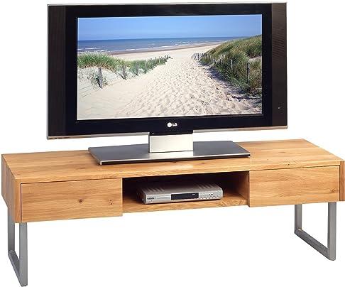 HomeTrends4You 353722Mobiletto per TV, Legno, Rovere, 120x 40x 40cm