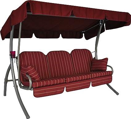 326/024/07 Balancelle Ibiza (3 places) Design Faro bordeaux