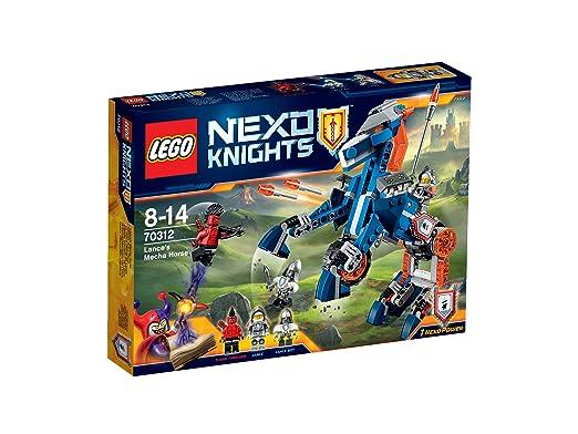 LEGO - 70312 - Nexo knights - Jeu de Construction - Le Mécha-cheval de Lance