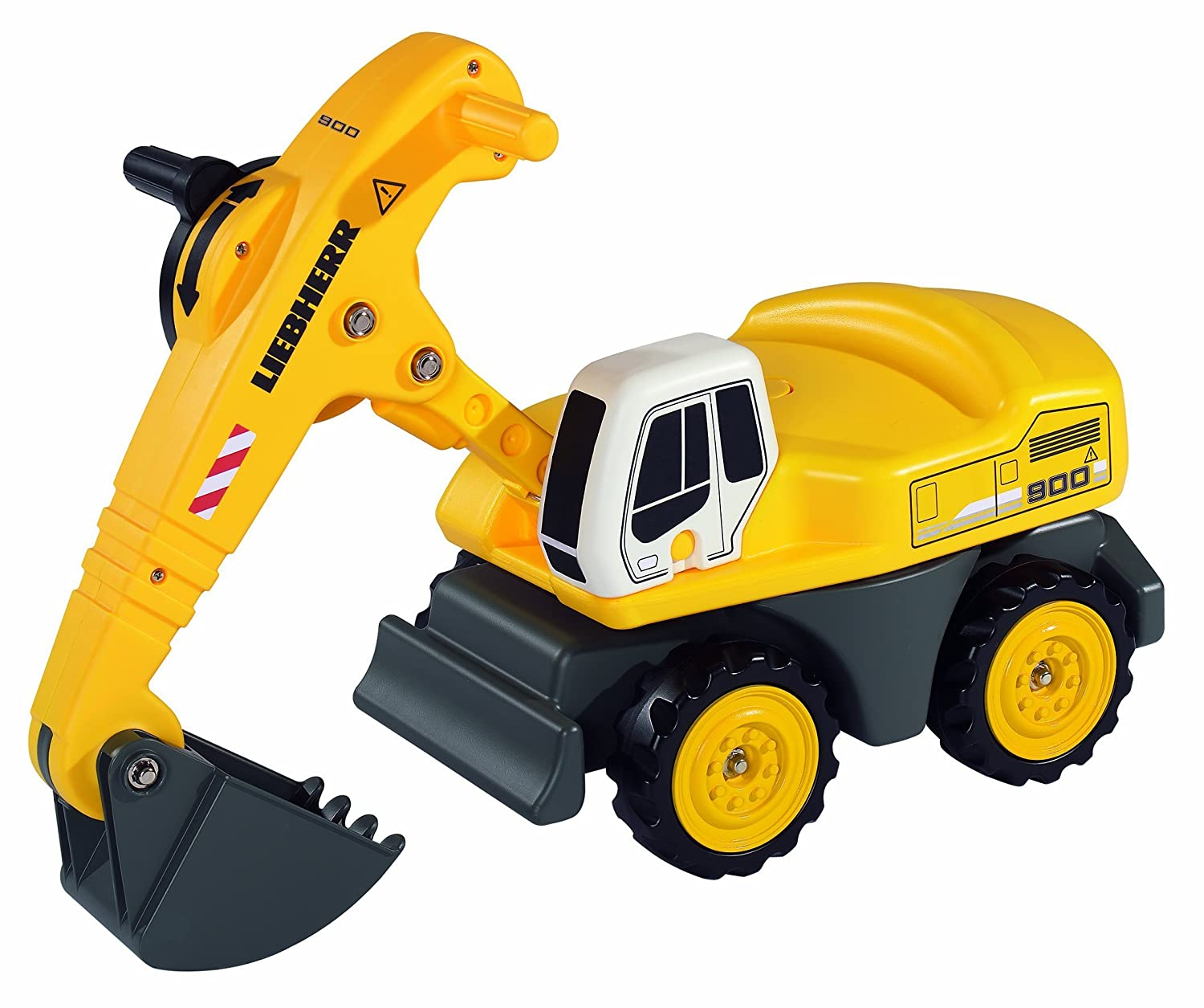 rezension big 56397 - sand digger liebherr, robust und