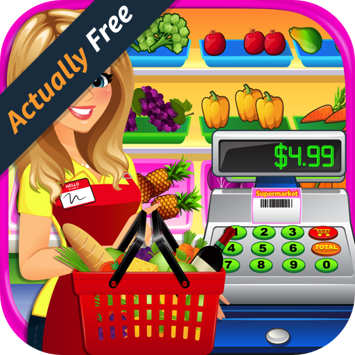 Supermarket Grocery Store Girl 2 - Kids Cash Register & Grocery Store Simulator & Shopping Games FREE (Movie Maker Free compare prices)