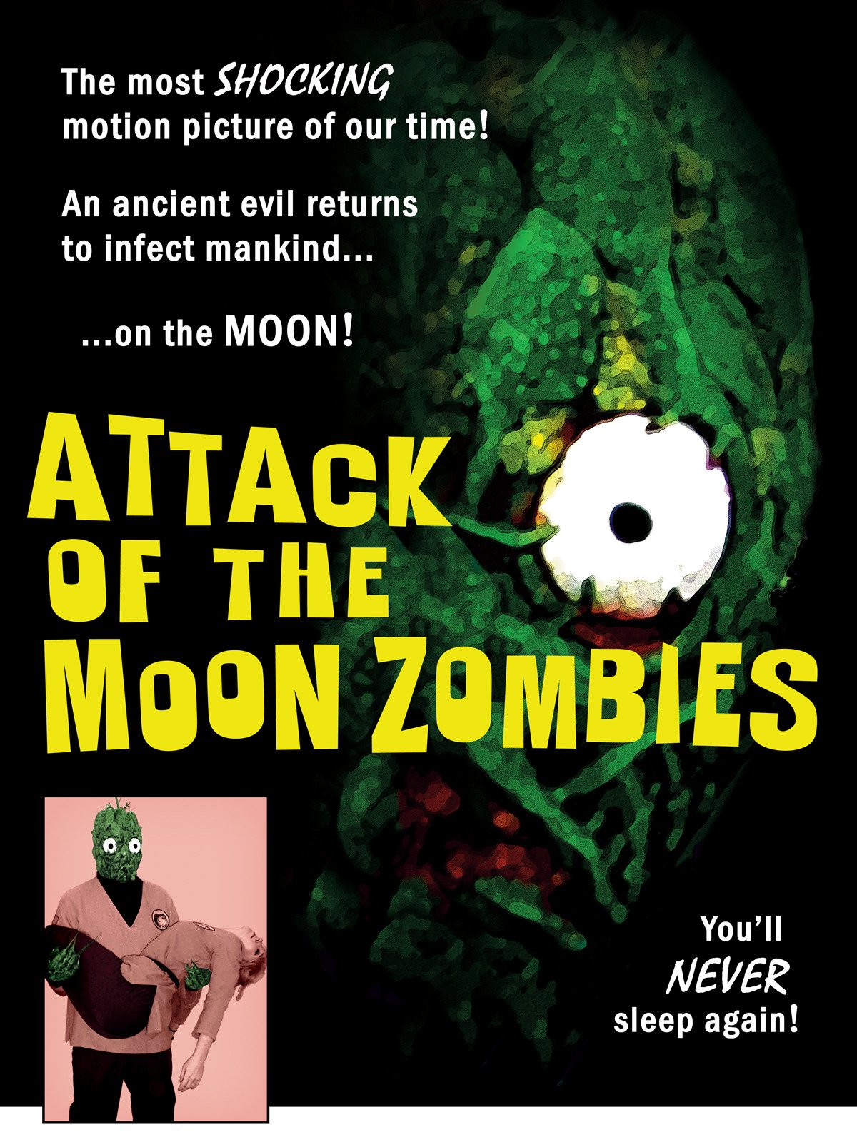 Attack of the Moon Zombies on Amazon Prime Video UK