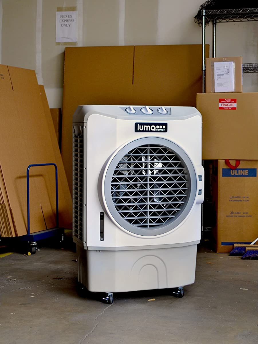 Luma Comfort EC220W High Power 1650 CFM Evaporative Cooler with 650 Square Foot Cooling