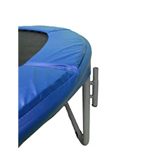 wow letu0027s have a close look at the first impression of this trampoline it features the medium size of 25 pounds and 10 foot round