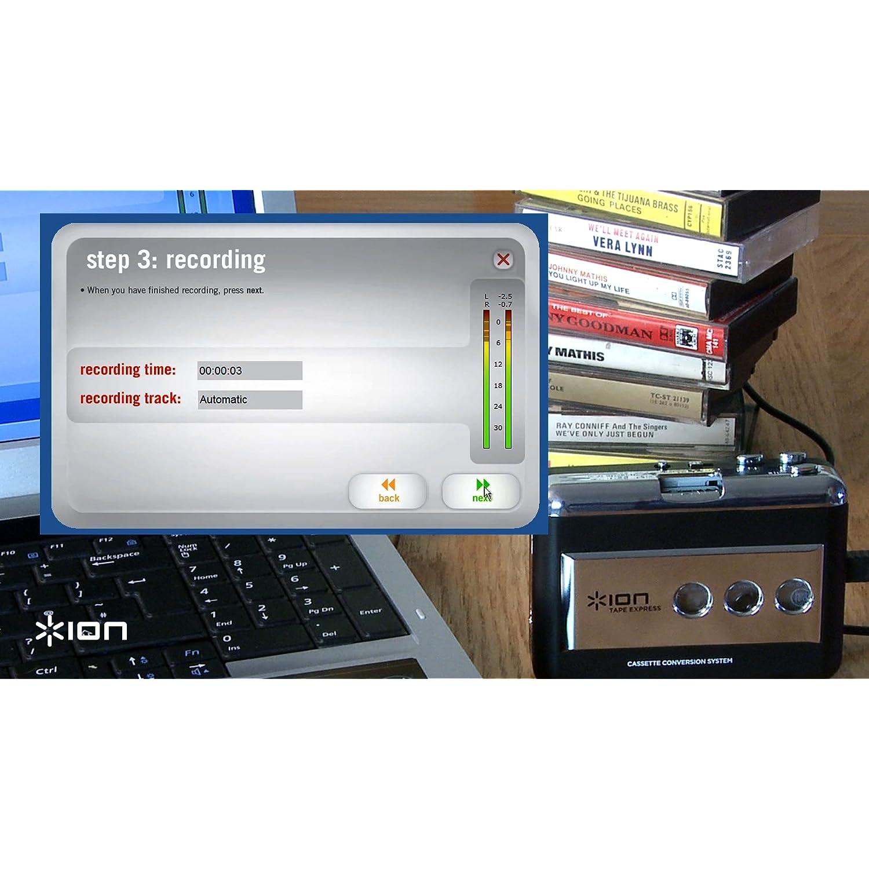 ION TAPEEXPRESS- Convertor cintas en MP3 convertir cassette a mp3