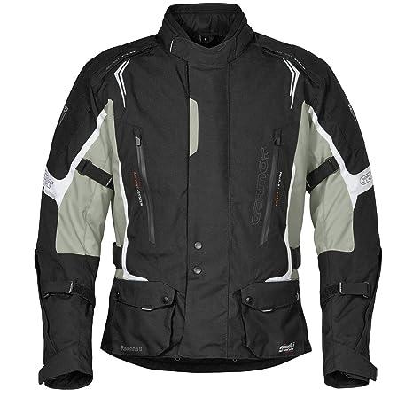 Germot rAVENNA 2 veste en textile pour homme noir/blanc/gris clair
