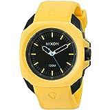 Nixon Men's 'Ruckus' Quartz Rubber and Polyurethane Casual Watch, Color:Yellow (Model: A349-887-00) (Color: Yellow/Black, Tamaño: One Size)