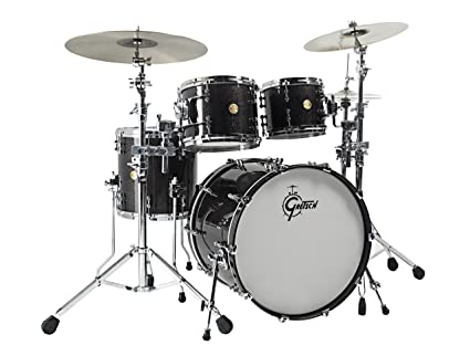 Gretsch New Classic Black Sparkle Gretsch 4pc New Classic Shell