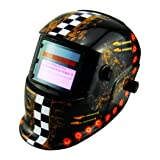 Li Battery+Solar Auto darkening welding helmet/face mask/Electric welder mask/cap for the welding machine (EF9040G, 6) (Color: 6, Tamaño: EF9040G)