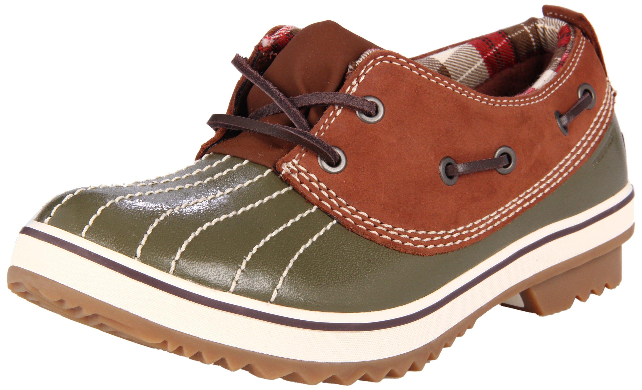 Sorel Women's Tivoli Low II NL1775 Shoe,Dark Olive/Cappuccino,5.5 M US