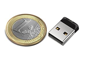 SanDisk Cruzer Fit CZ33 32GB USB Flash Drive (SDCZ33-032G-B35)
