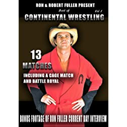 Best Of Continental Wrestling Vol. 1