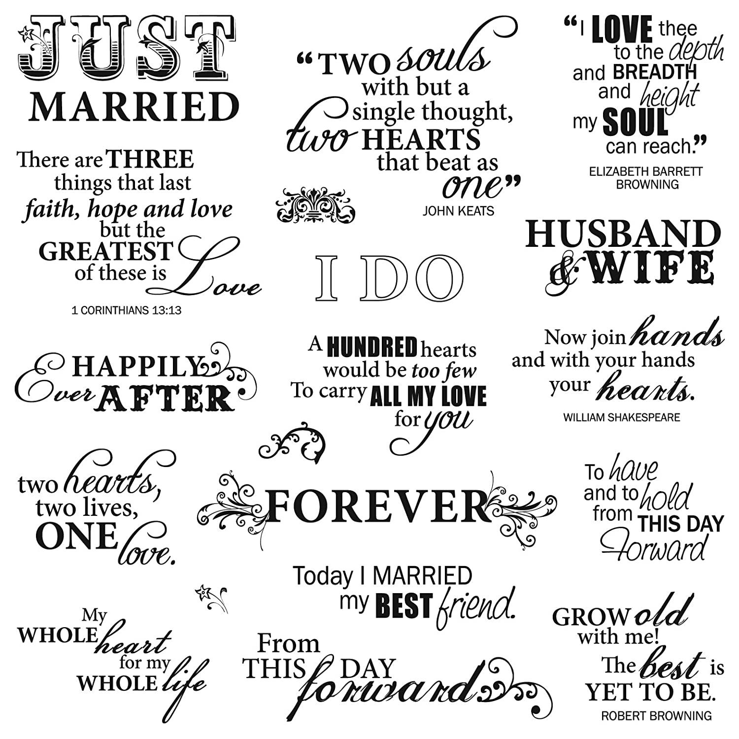 Memorable wedding wedding quotes ideas for finding just for Love quotes for card