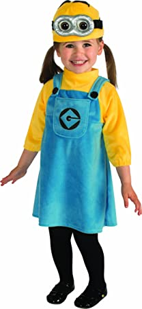 Minion Costume for Toddler Girls