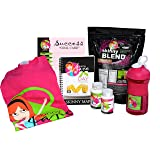 Skinny Jane - 28 Day Weight Loss Challenge - Lose Weight and Slim Your Body - You Can Lose 20 Pounds in Just 28 Days - Everything You Need to Slim Down Fast and Lose Belly Fat (Vanilla, XL) (Color: Pink, Tamaño: XL)