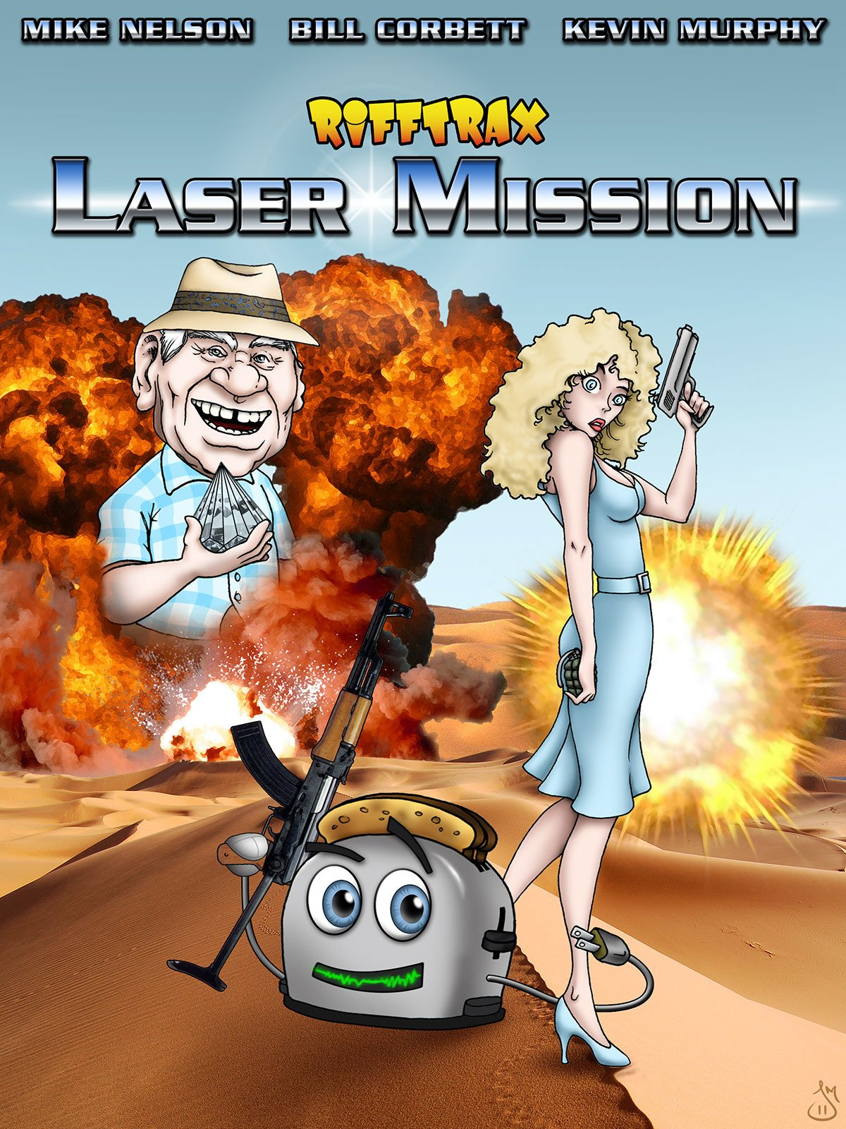 RiffTrax: Laser Mission
