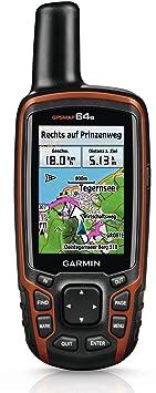 Garmin GPSMap 64s+ Appareil GPS/ordinateur de bord Avec carte Topo Allemagne V7 PRO