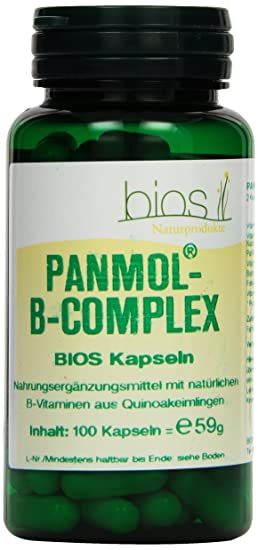 Bios PanMol-B-Complex, 100 Kapseln, 1er Pack (1 x 59 g)