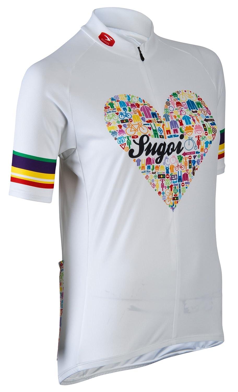 Sugoi Women's I Heart Bikes Cycling Jersey