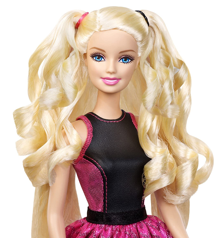 Barbie Haare Glätten