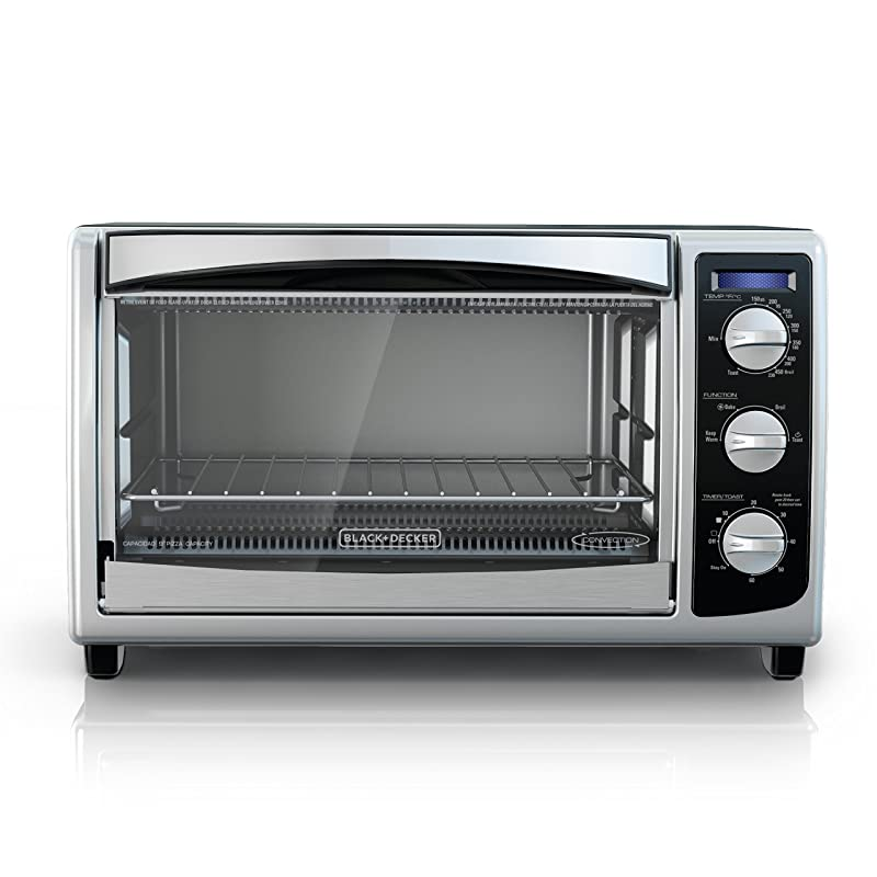 BLACK+DECKER TO1675B 6-Slice Convection Countertop Toaster Oven Via Amazon