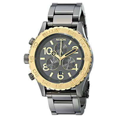 Nixon Men's 42-20 Chronograph Watch with Link Bracelet