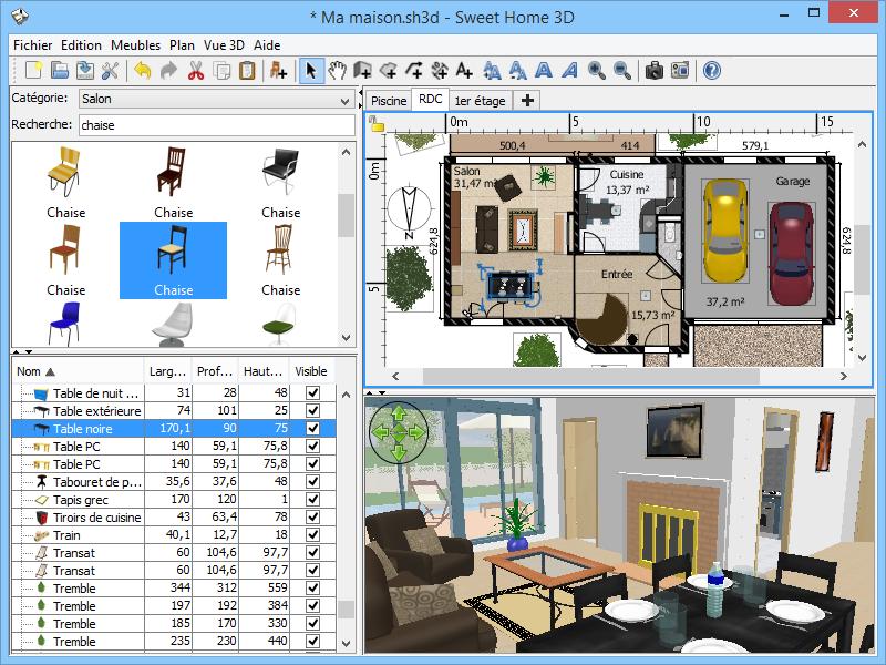 Logiciel 3d plan de maison for Architecte 3d amazon