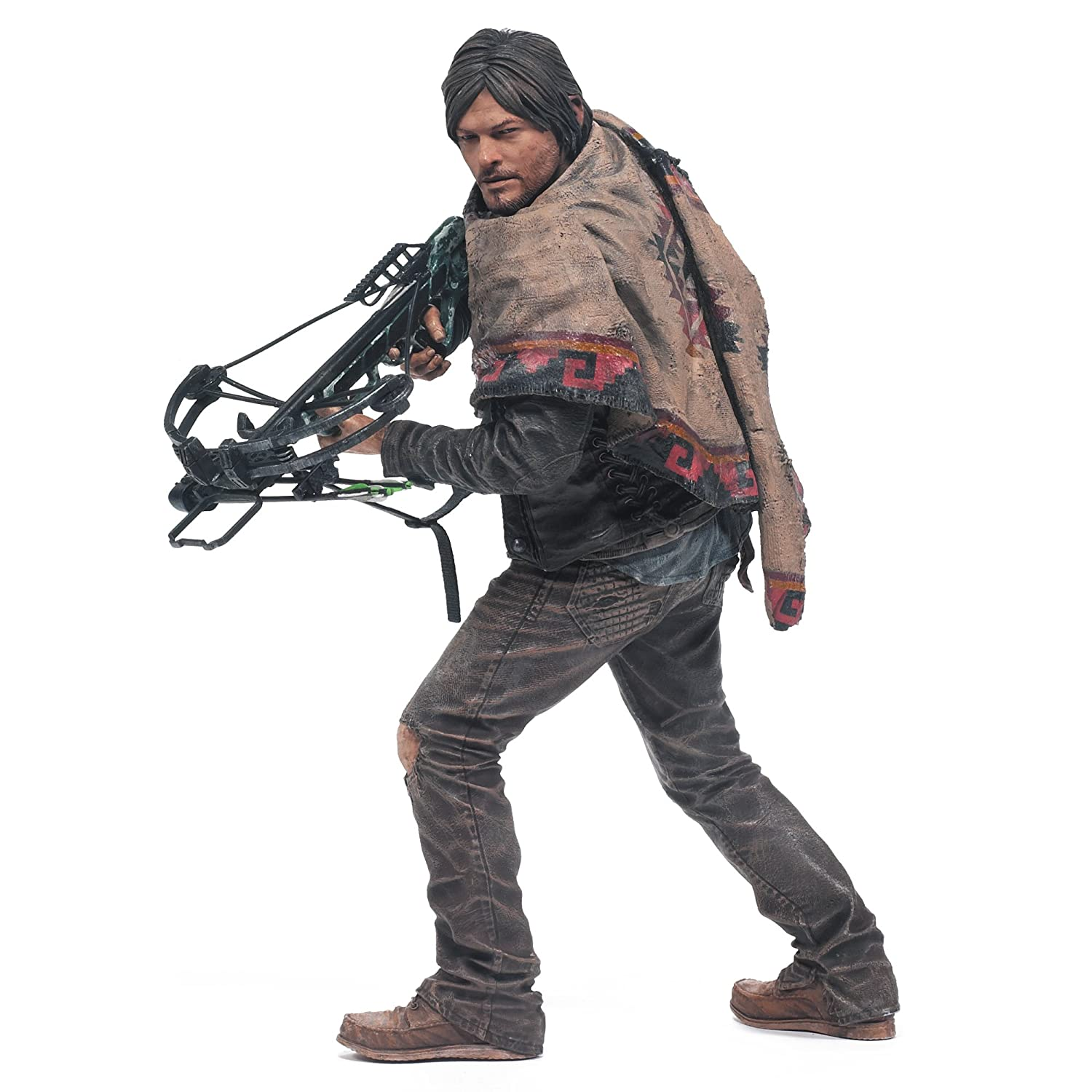 mcfarlane toys the walking dead tv daryl dixon 10 deluxe action figure new f ebay. Black Bedroom Furniture Sets. Home Design Ideas