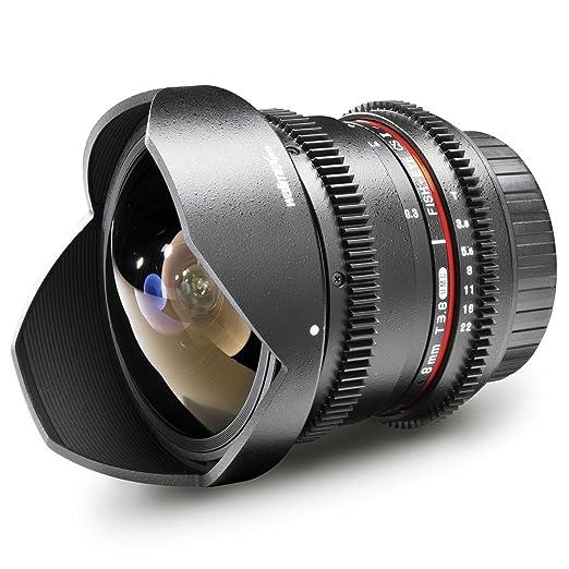 Walimex Pro Fish-Eye II Objectif VDSLR 8 mm f/3,8