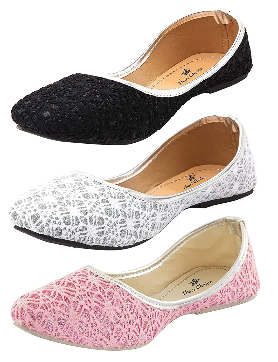 Deals on Thari Choice Woman and Girls Flat Belly shoes
