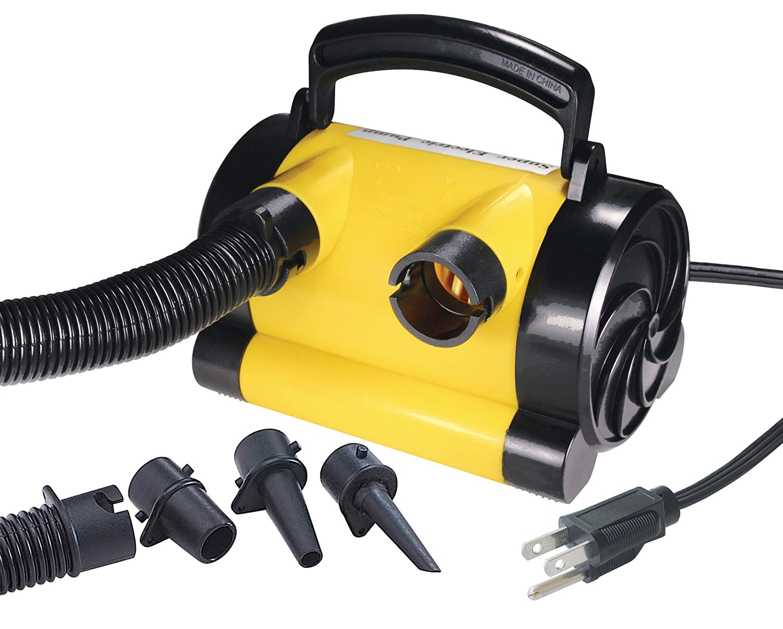 New Electric Air Pump Inflator Amp Deflator Auto 120v Power