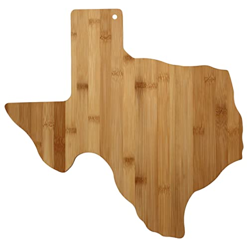 Totally Bamboo Cutting and Serving Board Texas State
