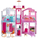 Barbie Pink Passport 3 Story Townhouse (Color: Multi)